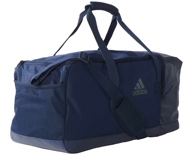 adidas 3S Performance Teambag Medium Sporttasche (Farbe: collegiate navy/utility green f16/utility green f16)