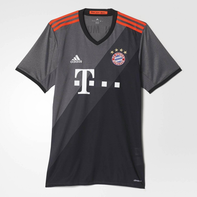 adidas FC Bayern Replica Auswärts Trikot (Größe...