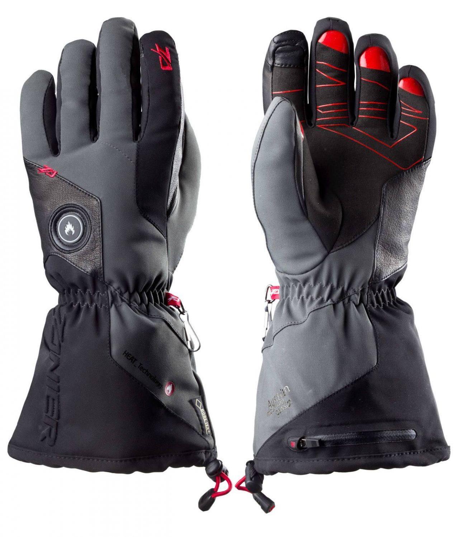 Zanier Aviator.GTX beheizbare Handschuhe (Größe: S = 8,0 , anthrazit/schwarz) jetztbilligerkaufen
