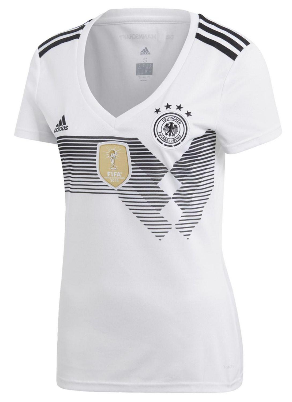 adidas DFB Heimtrikot Damen (Größe: L (Größe: 42-44), white/black) Preisvergleich