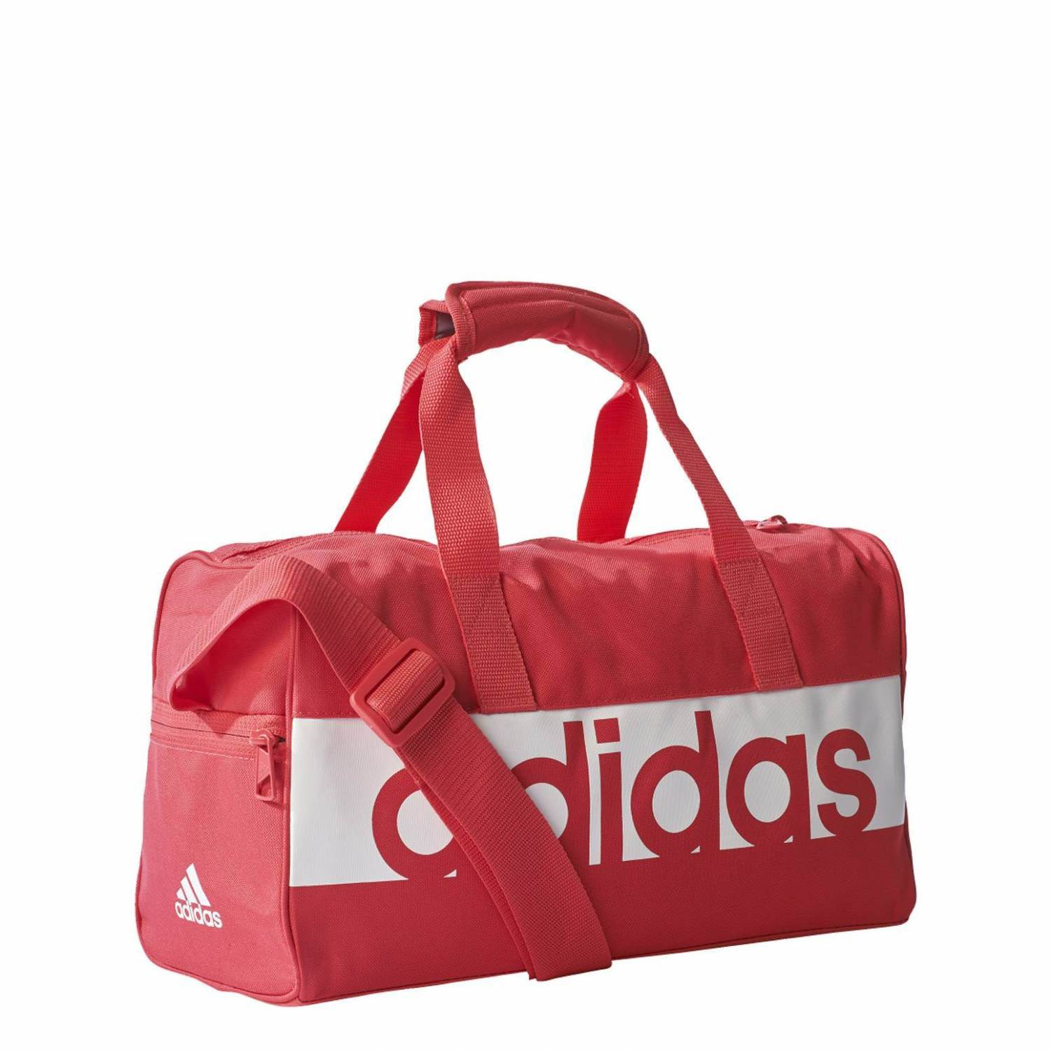 adidas Linear Performance Teambag XSmall Tasche (Farbe: core pink s17/white/white) Sale Angebote