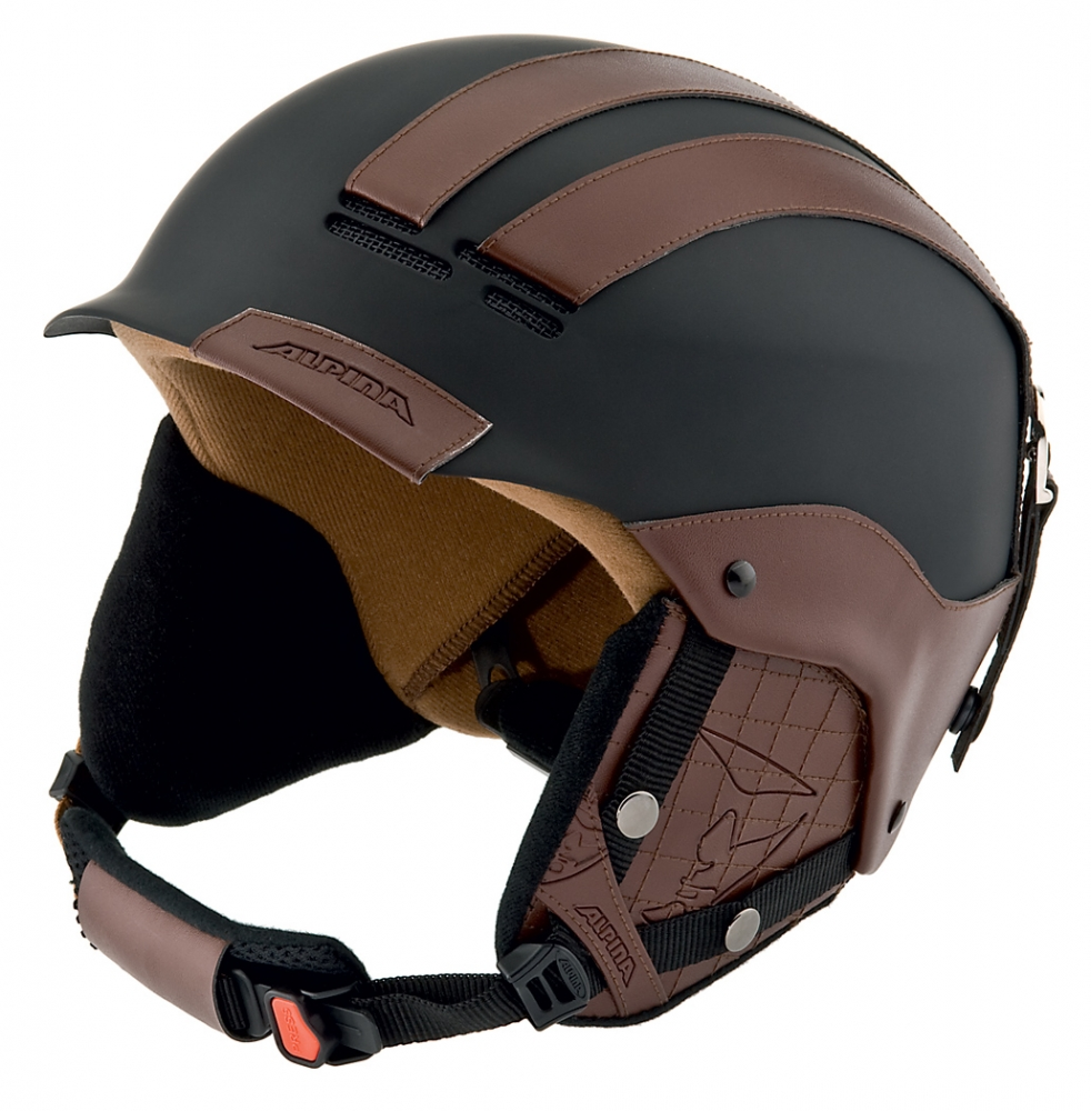 Alpina Skihelm Cap de Luxe (Kopfumfang: 54-57 cm, Farbe: 31 schwarz matt) Preisvergleich