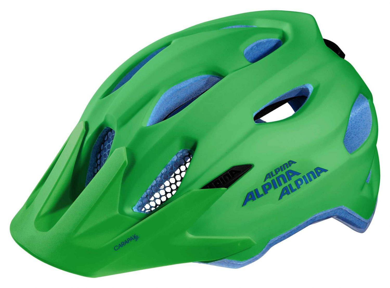 Alpina Carapax Jr. Fahrradhelm (Größe: 51-56 cm...