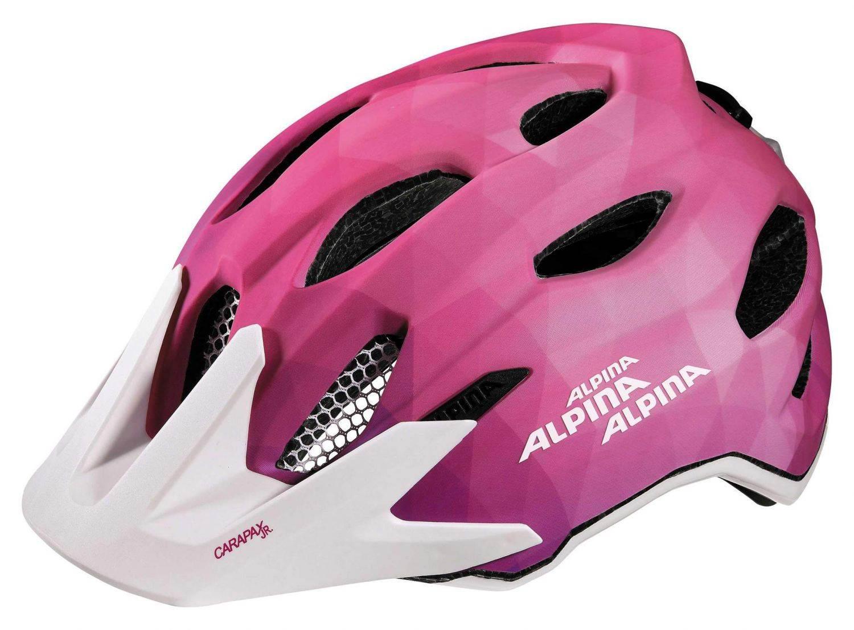 Alpina Carapax Jr. Flash Fahrradhelm (Größe: 51...