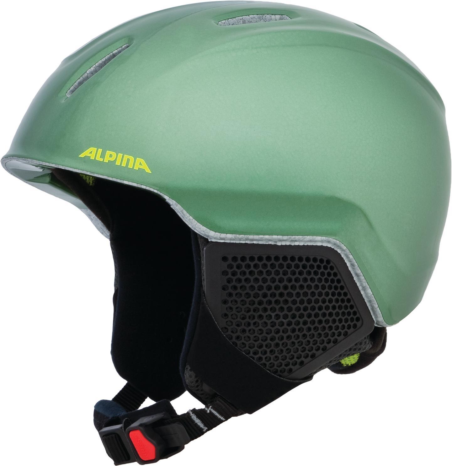 Alpina Carat LX Kinderskihelm (Größe 54 58 cm, 73 moss green)