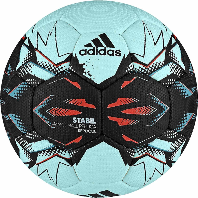 adidas Stabil Replique Handball Saison 2017 (Größe: 1 (Jugend), energy aqua f17/black/energy blue s17/energy s17) Sale Angebote