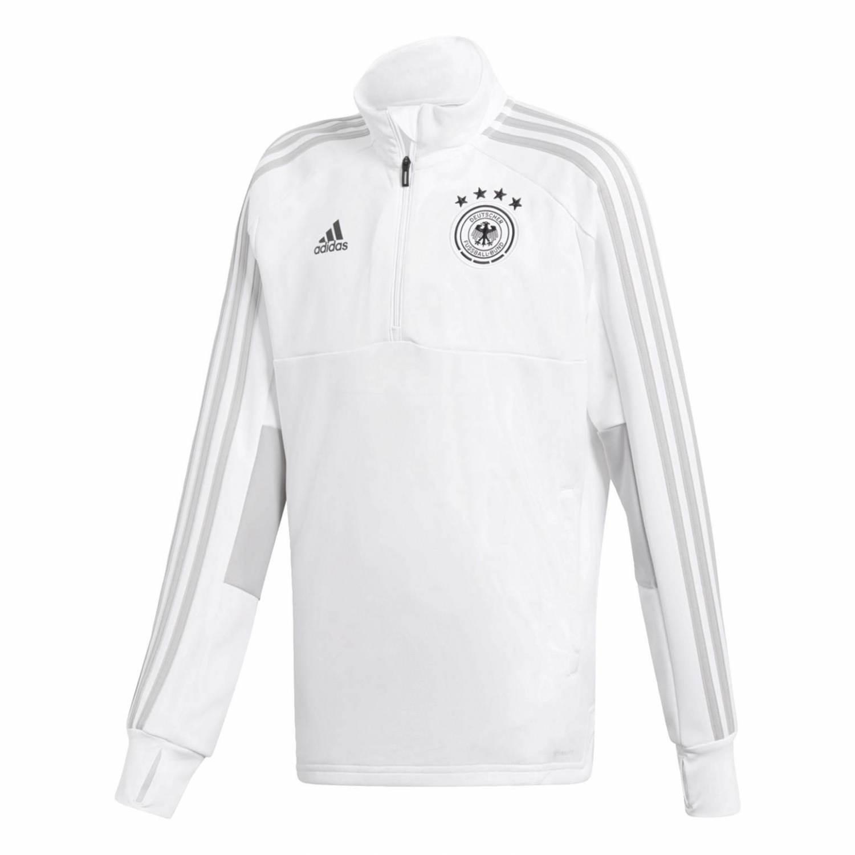 adidas DFB Training Top Youth Trikot (Größe 116, white grey two f17 black)