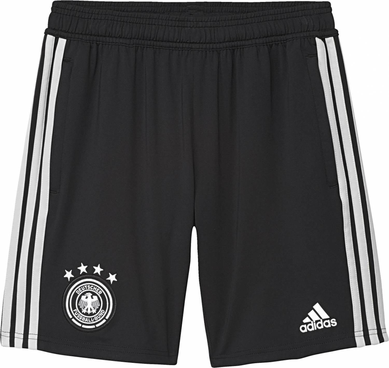 adidas DFB Training Short Kinder (Größe: 128, black/grey two f17/white) Preisvergleich