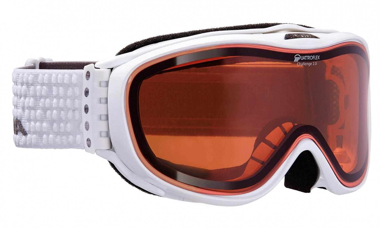 alpina challenge 2 0 skibrille farbe 011 wei scheibe quattroflex hicon price. Black Bedroom Furniture Sets. Home Design Ideas