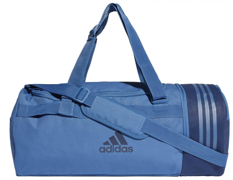 adidas Convertible Duffelbag M Sporttasche (Farbe: trace royal s18/noble indigo s18) Preisvergleich