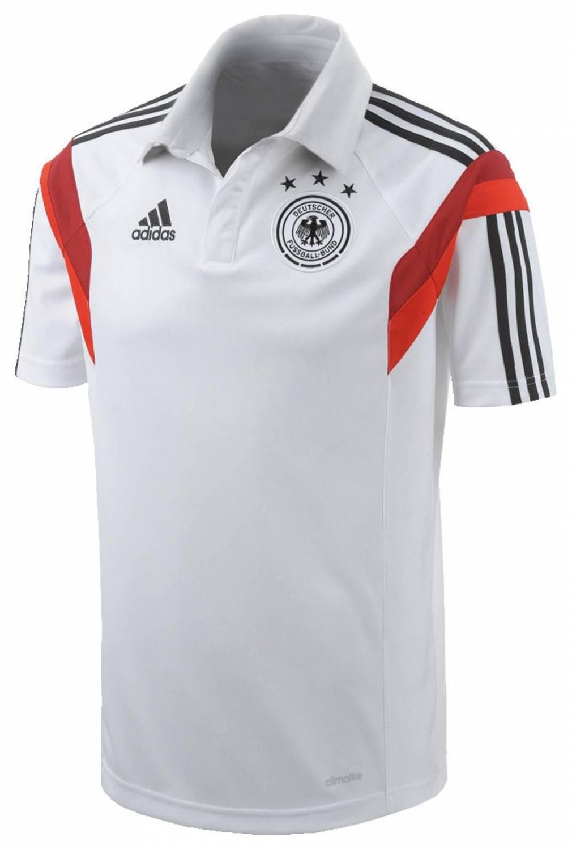 adidas DFB Poloshirt WM 2014 (Größe: M, white/b...