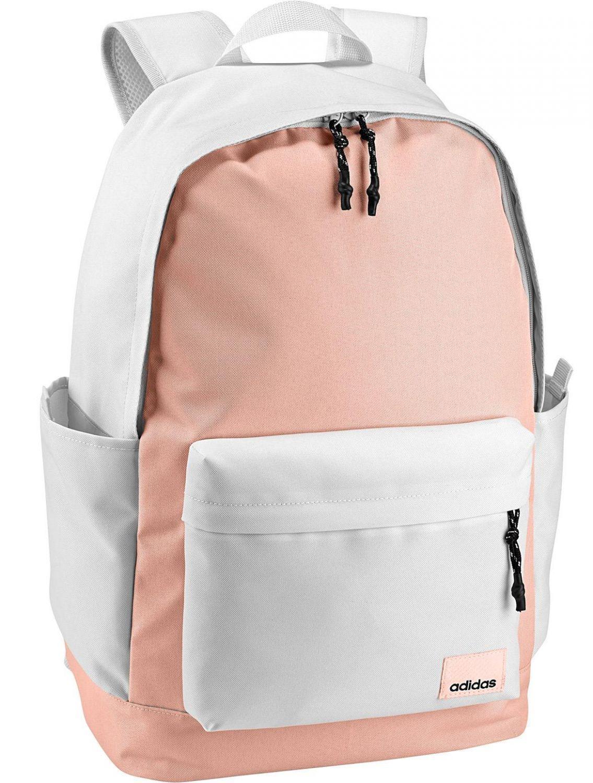 1f570b1045d7 adidas Daily Rucksack Backpack XL (Farbe  crystal white clear orange black)