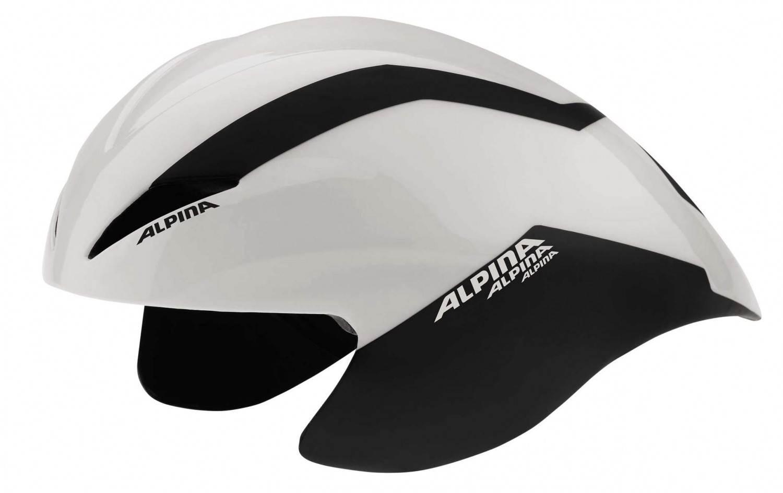 Schipkau Schipkau Angebote Alpina Radsporthelm Elexxion TT (Größe: 54-59 cm, 11 white/black)