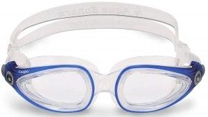 Aqua Lung Eagle Optic Schwimmbrille Gläser wechselbar (Farbe: aqua) Sale Angebote Haidemühl