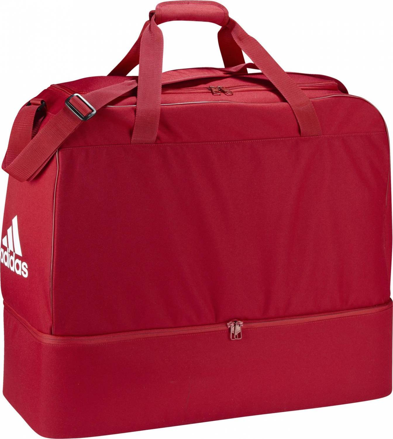 adidas Teambag With Bottom Compartment (Farbe: power red/white)