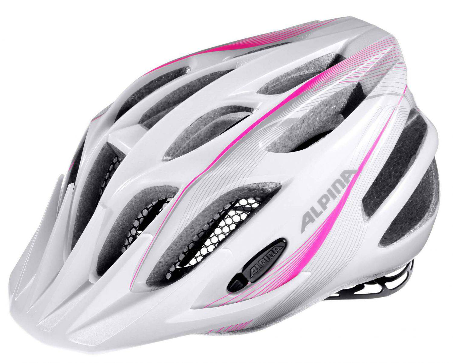 Alpina Firebird Junior 2.0 Flash Radhelm (Größe: 50-55 cm, 11 white/pink/silver) Sale Angebote Groß Gaglow