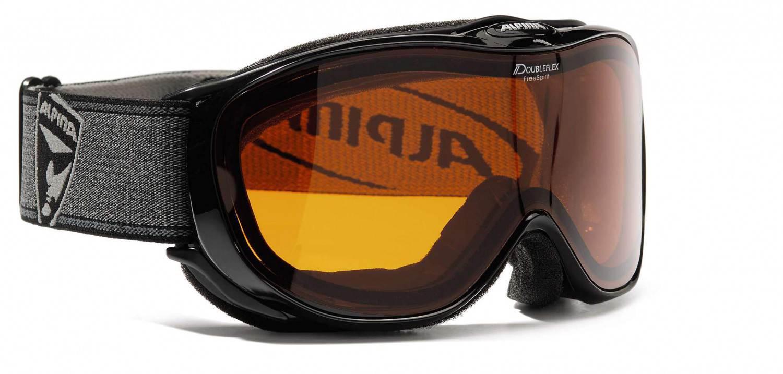 Kathlow Angebote Alpina Brillenträgerskibrille Challenge 2.0 (Farbe: 131 schwarz transparent, Scheibe: DOUBLEFLEX Hicon)