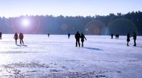 Gleitschuh fahren, ein toller Winterspaß auf Schnee und Eis