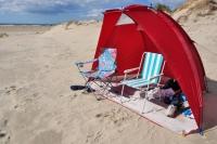 Strandmuscheln - Schutz vor Sonne und Wind am Strand