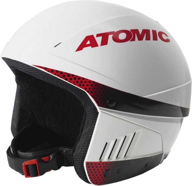 Atomic Skihelm Protect RS (Kopfumfang: S = 54-55 cm , Farbe: Red/White) jetztbilligerkaufen