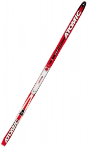 Atomic Kinderlanglaufskiset Ski Tiger G2 Syncro inkl. Bindung (Skilänge 130 cm (ca. 30 bis 45 kg), Farbe red white)