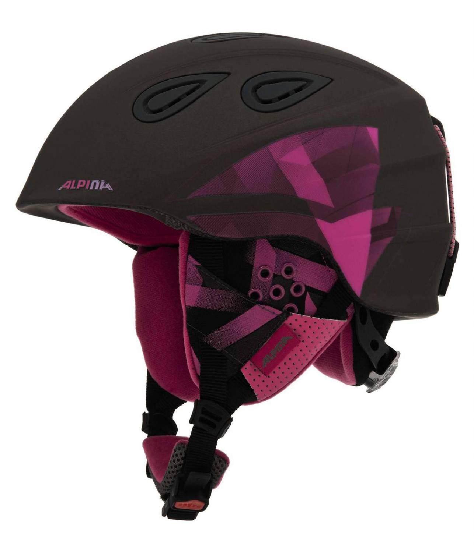 Wiesengrund Angebote Alpina Grap 2.0 Skihelm (Größe: 57-61 cm, 36 titanium/pink matt)