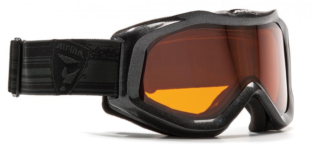 alpina grap d skibrille farbe 131 schwarz scheibe doubleflex. Black Bedroom Furniture Sets. Home Design Ideas
