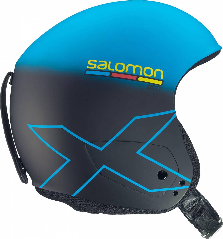 Salomon X Race Slab Rennhelm (Größe: XXL = 61-62 cm, blue/black mat)