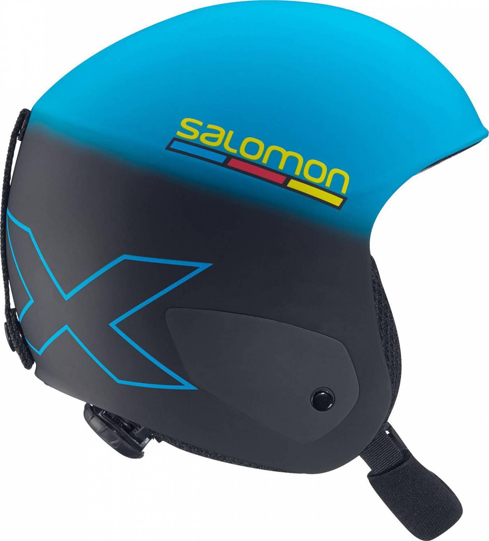 Salomon X Race Junior Rennskihelm (Größe: 55-58 cm, blue/black mat)