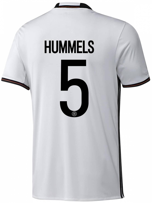 adidas DFB Home Jersey Hummels (Größe: S, white)