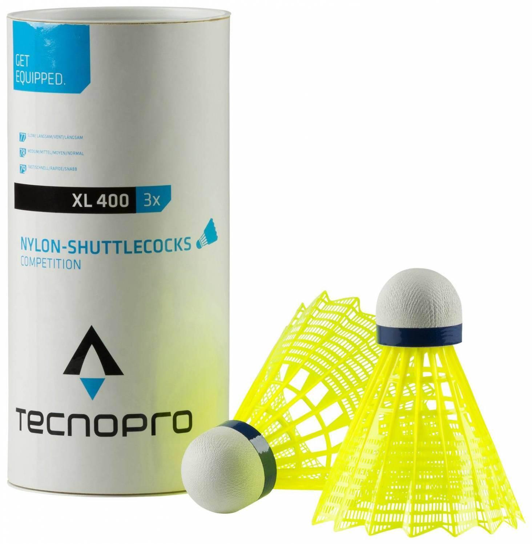 TecnoPro Badmintonball Pro XL 400 (Farbe: 181 gelb) Sale Angebote Grunewald