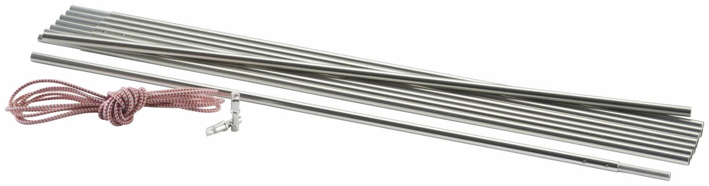 McKinley Zeltgestänge aus Aluminium (Farbe: 869 silber) Preisvergleich
