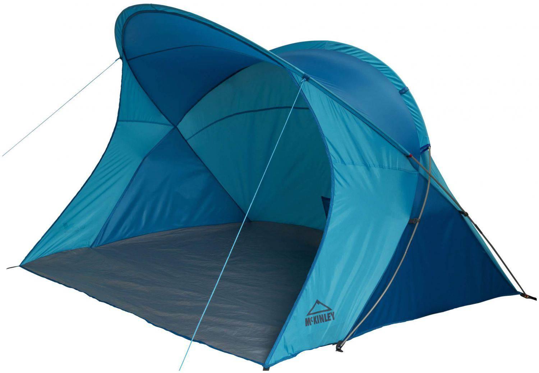 McKinley Strandmuschel Evia UV 40 (Farbe: 903 türkis/blau)