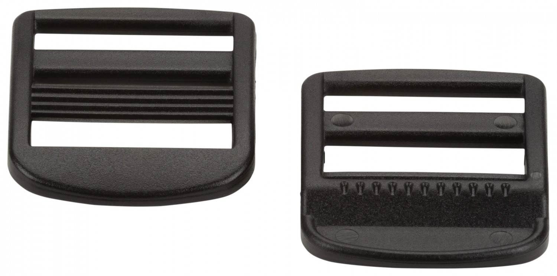 McKinley Rucksackschnalle Schultergurt (Farbe: 050 schwarz, Größe: 20 mm)