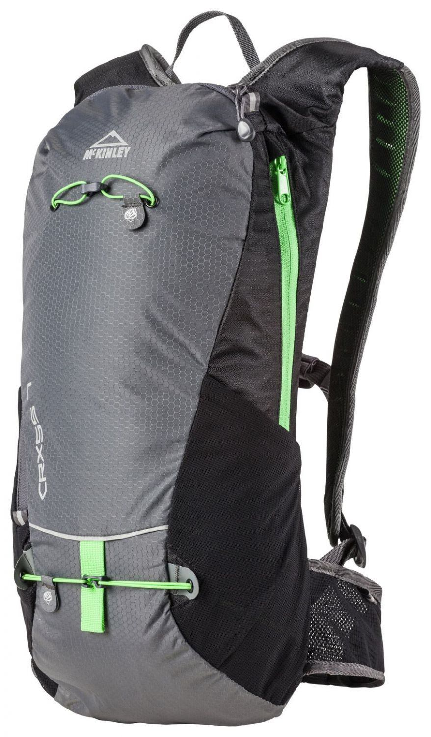 McKinley Crxss 7 Multifunktionsrucksack (Farbe: 904 anthracite/black/lime)