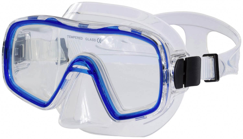 TecnoPro Tahiti Taucherbrille (Farbe: 545 blau)