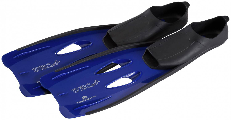 TecnoPro Orca Flosse (Größe: 30.0 - 32.0, 900 blau/schwarz)