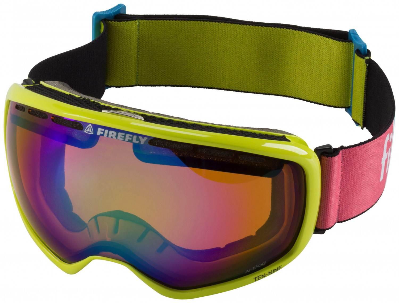 Firefly Ten-Nine Skibrille (Farbe: 904 line/pink/hellblau)