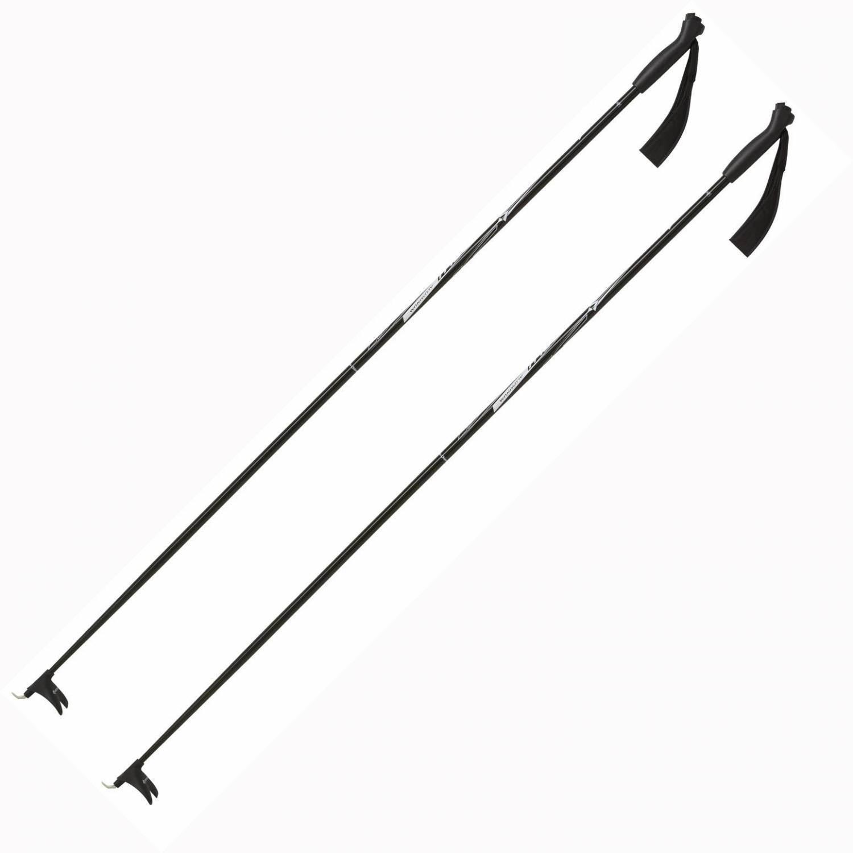 TecnoPro Langlaufstock Active Aluminium (Stocklänge: 150 cm, 900 schwarz/silber) Sale Angebote Hornow-Wadelsdorf