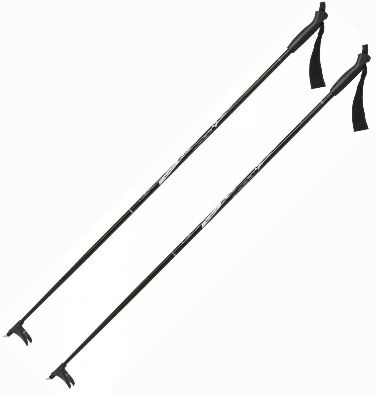 TecnoPro Langlaufstock Active Junior (Stocklänge: 85 cm, 900 schwarz/silber)