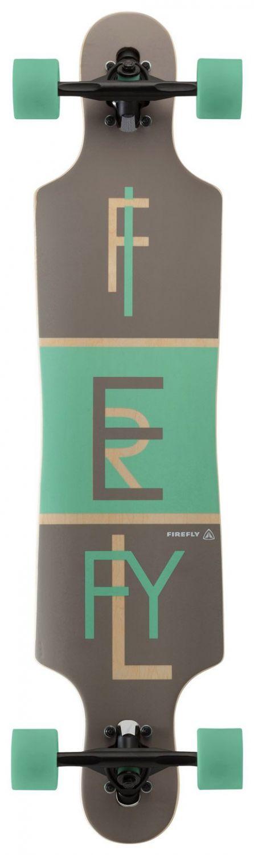 Firefly Freeride 2.5 Longboard (Farbe: 900 grau...