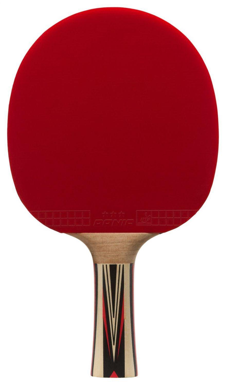 Donic Tischtennis Schläger Top Team 700 (Farbe: 900 schwarz/rot)