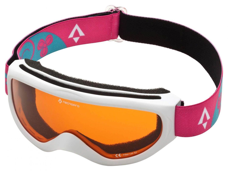 TecnoPro Snowfoxy Plus Skibrille (Farbe: 902 weiß/pink)