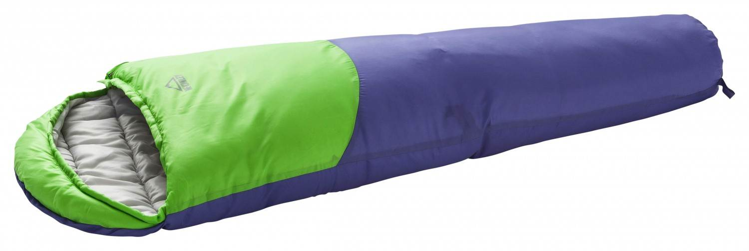 McKinley Junior Kids Mumienschlafsack (Farbe: 901 grey light/lime/purple, RV links) Sale Angebote Welzow