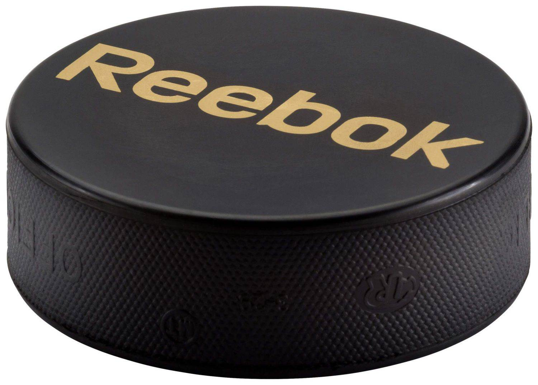Reebok Eishockey Puck (Farbe: 001 schwarz, Senior)