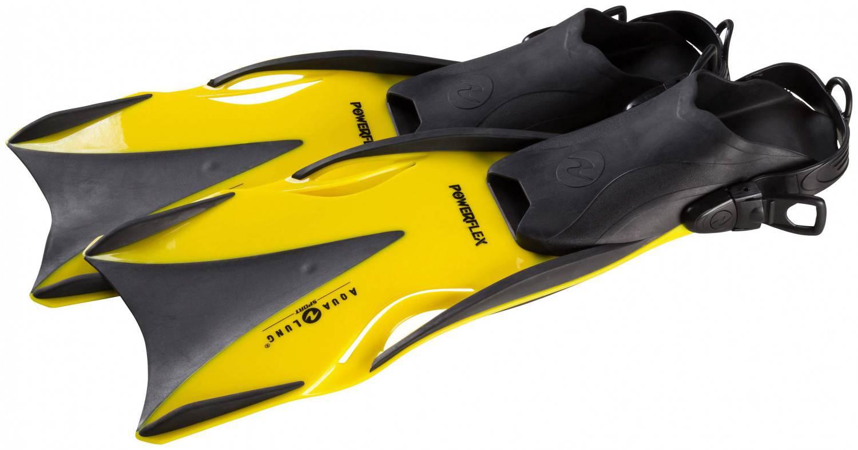 Aqua Lung Flosse Powerflex (Größe: 37.0-40.0, gelb) Preisvergleich
