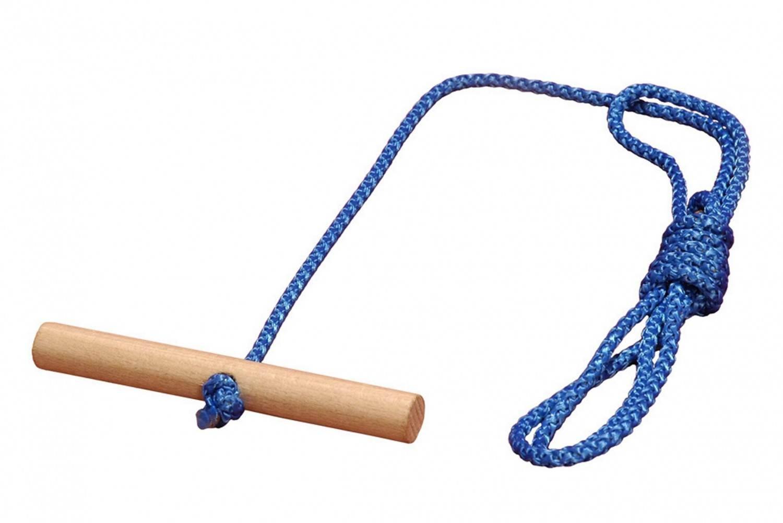 TecnoPro Zugseil für Rodel (Farbe 400 blau)