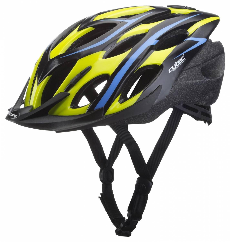 Guhrow Angebote Cytec Firestarter Junior Fahrradhelm (Größe: 54-58 cm, 310 grün/blau)