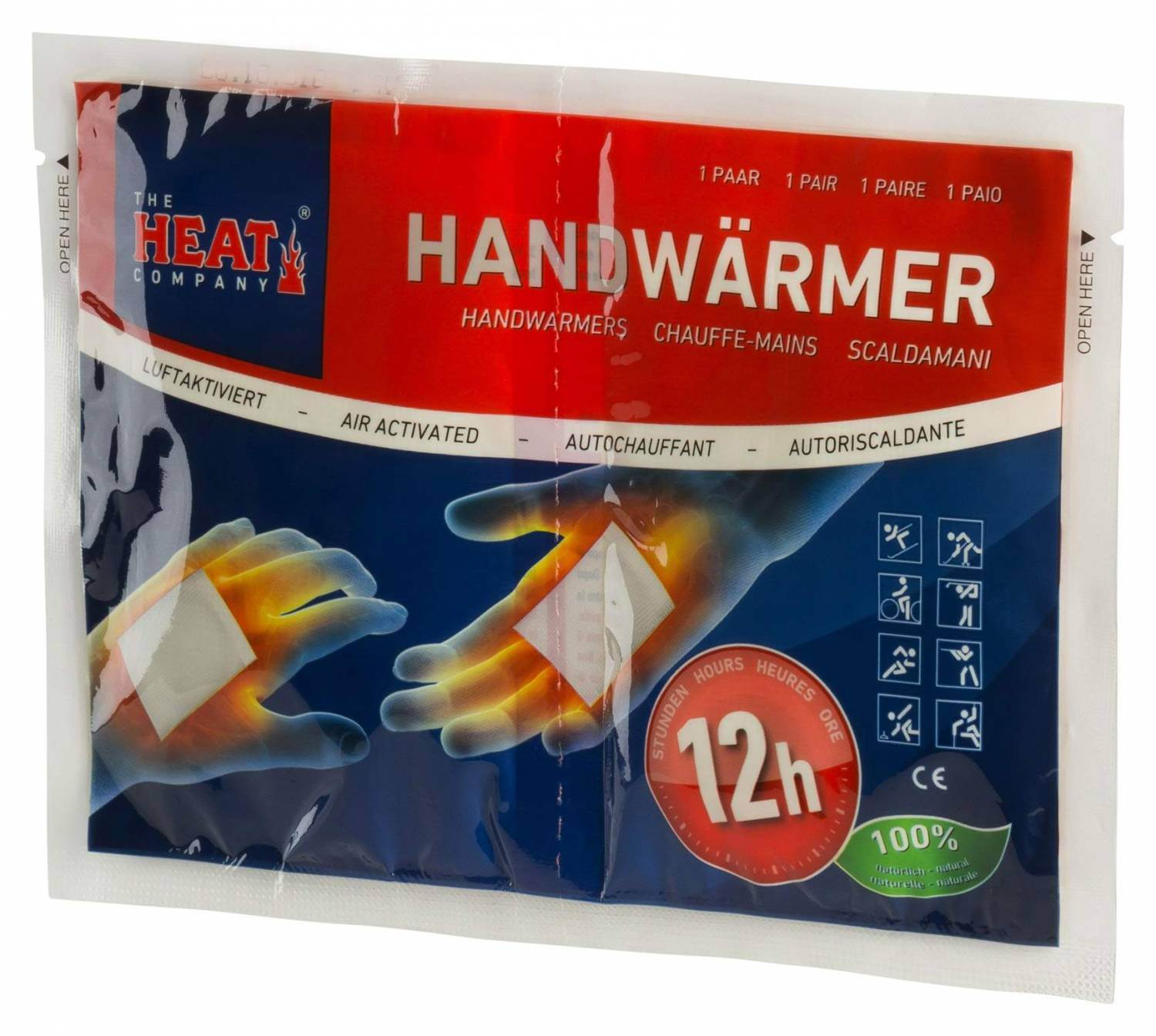 The Heat Company Handwärmer (Farbe: 001 neutral)