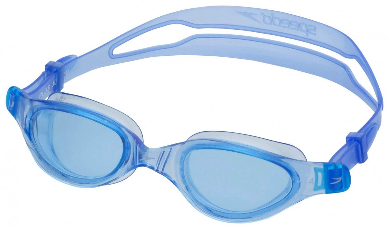 Speedo Futura Plus Junior Schwimmbrille (Farbe: 8420 blue/blue)